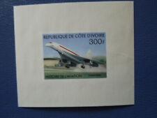 G798    IVORY  COAST  CONCORDE  DE  LUXE  PROOF  MNH