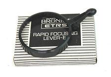 Zenza Bronica rápido enfoque Mango Para 75mm, 40mm Etc: (Retal recuadro).