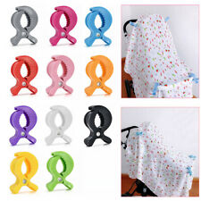 Toy Lamp Cover Blanket Clips Pram Stroller Peg To Hook Baby Car Seat Accessories