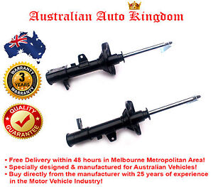 Pair of New Front Shock Absorbers For Toyota Tarago ACR50 FWD Wagon 2006 - 2009