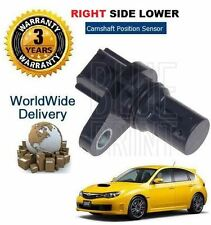 FOR SUBARU IMPREZA 2.5 WRX TURBO STi 07--> NEW RIGHT HAND LOWER CAMSHAFT SENSOR