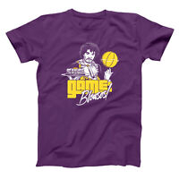 Game Blouses Prince  Basketball  Funny  Humor  Party Purple Basic Men's T-Shirt