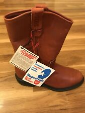 Red Wings SuperSole Vintage PECOS Men's Boots Measures Size 10 With Tags