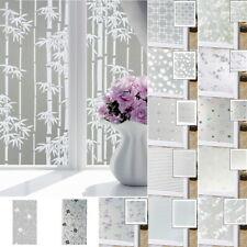 Privacy PVC Window Glass Film Frosted Window Stickers Self Adhesive Home Decor