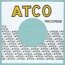 ATCO RECORDS (yellow logo) - REPRODUCTION RECORD COMPANY SLEEVES - (pack of 10)