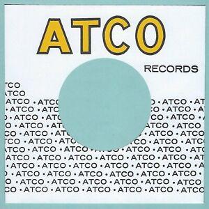 ATCO RECORDS (lemon logo) - REPRODUCTION RECORD COMPANY SLEEVES - (pack of 10)