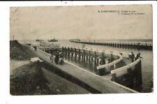 CPA-Carte Postale-Belgique-Blankenberge-Entrée du Port en 1920 VM8928