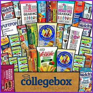 Healthy Care Package 30 Count Natural Food Bars Nuts Fruit Health Nutritious Sna