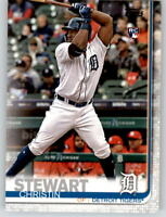 2019 Topps Series 2 SP Photo Variation #672 CHRISTIN STEWART Tigers Rookie