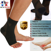 Copper Compression Socks Ankle Support Stockings Foot Sleeve For Men Women SFC