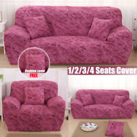 1/2/3/4 Seater Sofa Covers Slipcover Elastic Stretch Settee Couch  z