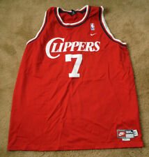 LAMAR ODOM Clippers 7 red jersey size adult 3XL Nike NBA sewn