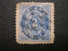 ICELAND 1873 Scott #1 facsimile w/ faults  HZ4