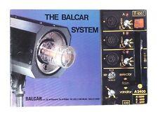 The Balcar System brochure