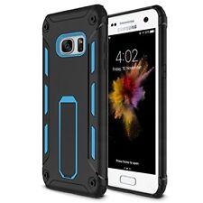 Galaxy S7 EDGE Case Heavy Duty Soft TPU Hard PC Rugged Dual Layer Cover Kickstan