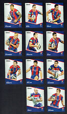 2014  NEWCASTLE KNIGHTS  TRADERS  RUGBY LEAGUE CARDS