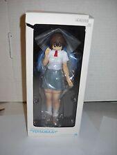 Yotsuba&! Ayase Fuka School Uniform ver. PVC Figure Kaiyodo MIB genuine