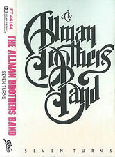 Allman Brothers Band Seven Turns CASSETTE ALBUM Epic ET46144  US Southern Rock