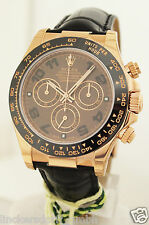 ROLEX DAYTONA - REF. 116515LN IN 18ct ROTGOLD - CHOCOLATE EDITION - NEU / NEW