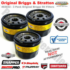 Briggs and Stratton Oil Filters 3 Pack 696854 695396 492932 492932S