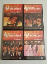 Wal-Mart Soundcheck DVD 4 Pack-Jason Aldean, Fall Out Boy, Maroon 5, & Rihanna