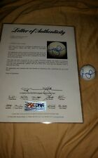 #1 Rory McILROY 2010 Masters logo signed golf ball autograph PGA PSA/DNA S13976