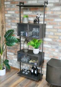 INDUSTRIAL STYLE WALL UNIT