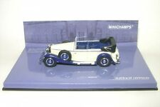 1/43 Minichamps Maybach Zeppelin 1932 blanco azul 436 039408