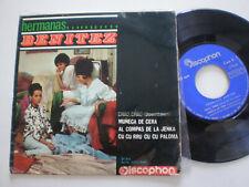 HERMANAS BENITEZ Downtown+Pupe SPAIN EP VINYL 1965 Cuban YE-YE Latin GAINSBOURG
