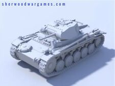 1/48 German Panzer II Ausf A,B, Or C. Resin By Blitzkrieg WWII Bolt Action,