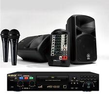 tragbar karaoke system yamaha soundsystem rsq karaoke komplettsystem