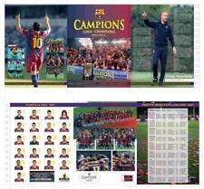 """Documento Oficial FCBARCELONA """" Campeones Liga y Champions"""" football stamps fcb"""