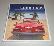 Bildband: Cuba Cars - Oldtimer in der Karibik - Classic Cars of the Carribean