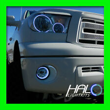 2007-2013 TOYOTA TUNDRA WHITE LED LIGHT HEADLIGHT+FOG HALO KIT by ORACLE