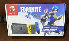Brand New Nintendo Switch Console Fortnite Special Edition Wildcat Bundle !
