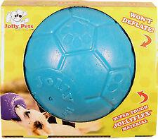 Jolly Pets Balls 8quot Soccer Ball Ocean Blue Large/x-large