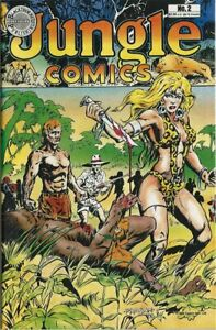 1988 Blackthorne - Jungle Comics # 2 Sheena Queen of The Jungle -Great Condition