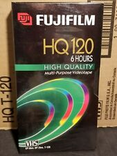 New listing Fujifilm 10 Pack Vhs Hq 120 High Quality 6 Hour Multi-Purpose Videotapes New