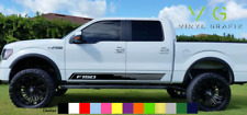 Ford F150 F-150 Vinyl Decal Sticker Graphics Sport Side Door x2 ANY COLOR - 071
