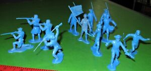 LOT OF .....RECAST.....MARX COLONIAL REV WAR TROOPS..........