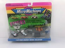Micro Machines New Set #40 Texas Highway Patrol Collection+ 4 Color Change Cars