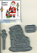 Crafters' Companion - Rubber Stamps - 'Santa's Grotto' Set