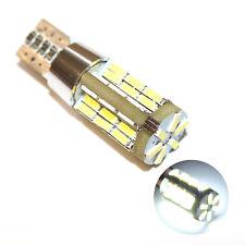 Fits Isuzu Trooper 3.5 V6 24V White 54-SMD LED 12v Number Plate Light Bulb