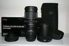 Sigma APO DG HSM 70-200 2.8 OS für Nikon Neuwertig 1 Jahr Gewährleistung