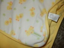 30x30 Carter's Duck Stars Mommy Loves Me Fleece Crib Baby Blanket Lovey