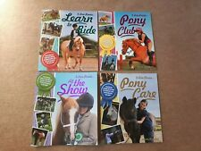 4 x I Love Ponies paperback books