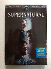 Supernatural Fourteenth Season 14 (DVD, 2019) NEW SEALED