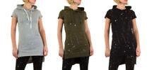 Markenlose Damenblusen, - tops & -shirts mit Kapuze in Größe XL