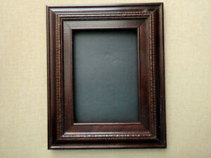 """BEAUTIFUL WALNUT COLOR WOOD FRAME FOR 6""""x8"""" PHOTOGRAPH"""