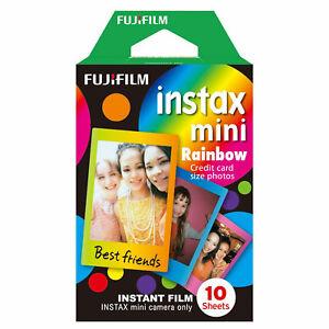 Fujifilm Instax Mini RAINBOW Film (10 Shots)